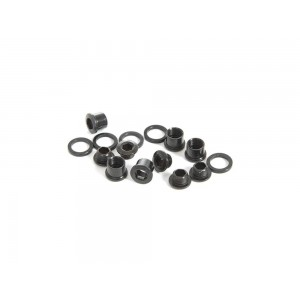 Truvativ Chain Ring Bolt Kit 4-arm Single No Guard Steel (Black)