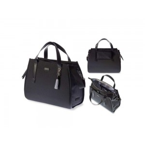 Basil tašna na nosič Noir Business Bag (Midnight black)
