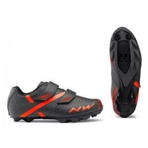 Northwave tretry Spike 2 (Anthracit/Orange)